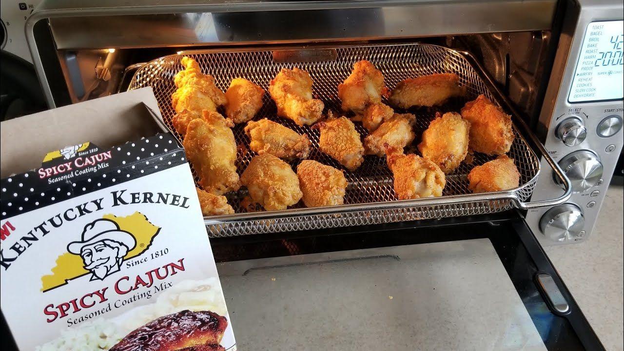 Breville Smart Oven Air Fryer Kentucky Kernel Spicey Cajun Chicken Wings Air Recipe Air Fryer Chicken Wings Smart Oven