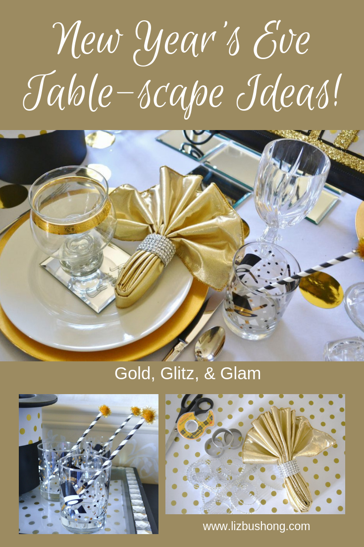 New Year's Eve Tablescape Ideas