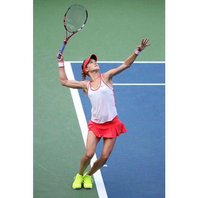 Instagram Photo By Geniebouchardfanbr Geniearmy Via Iconosquare In 2020 Tennis Canadian Tennis Player Tennis Workout