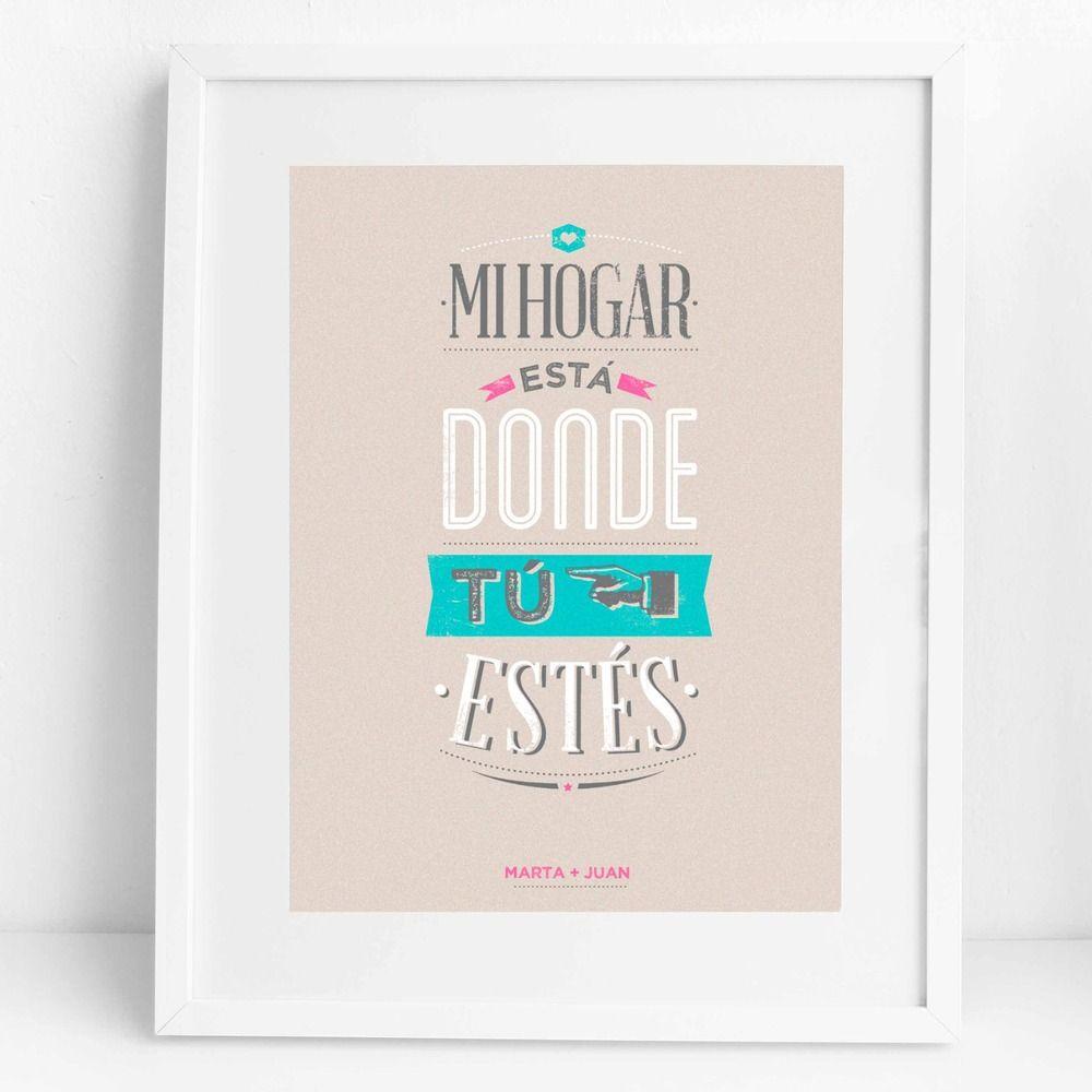 Mi Hogar Esta Donde Tu Estes Super Cute Mugs Posters And Things