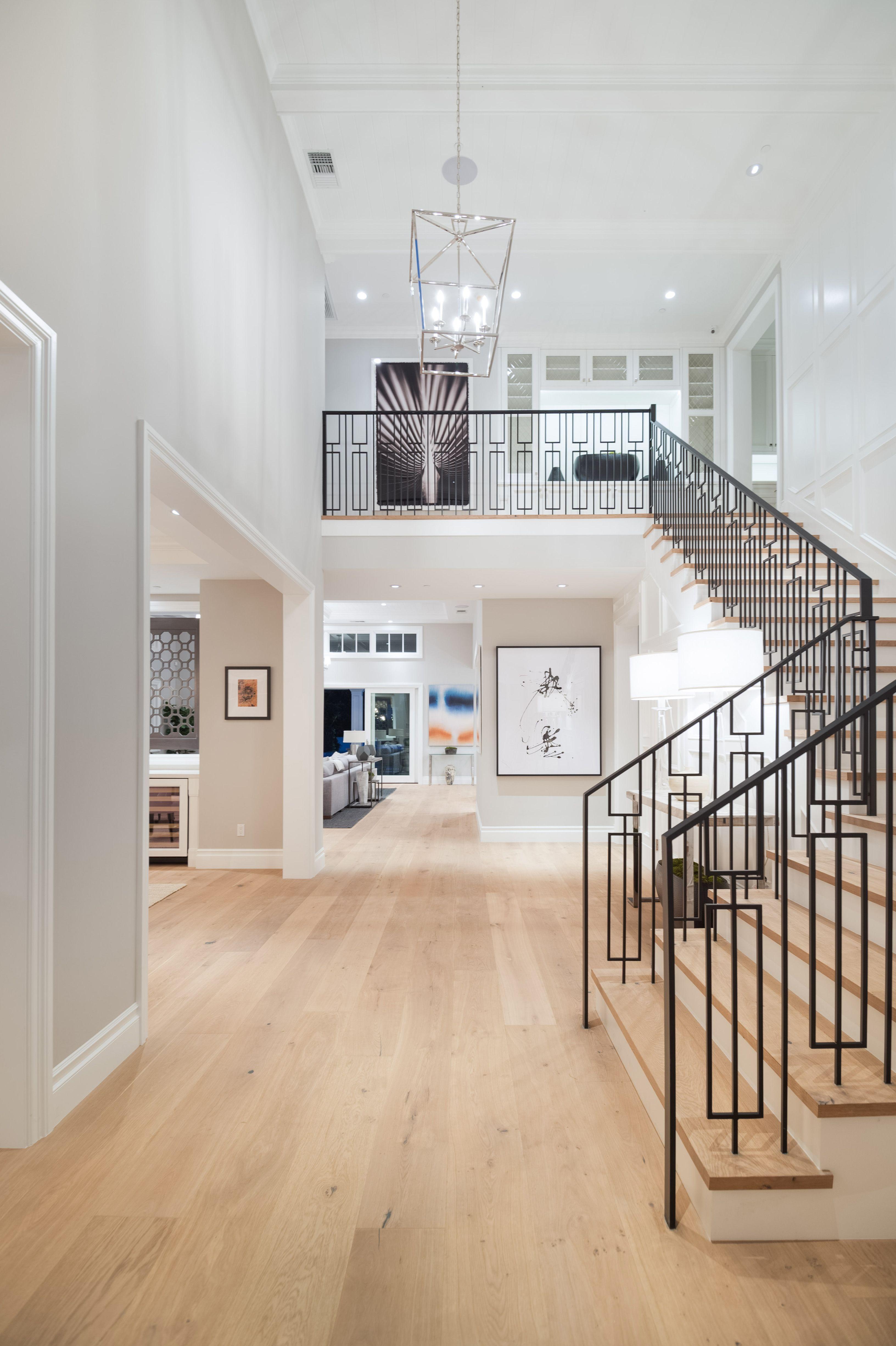 Best Foyer Open Floor Plan Wood Floors Oak Floors Wrought 640 x 480