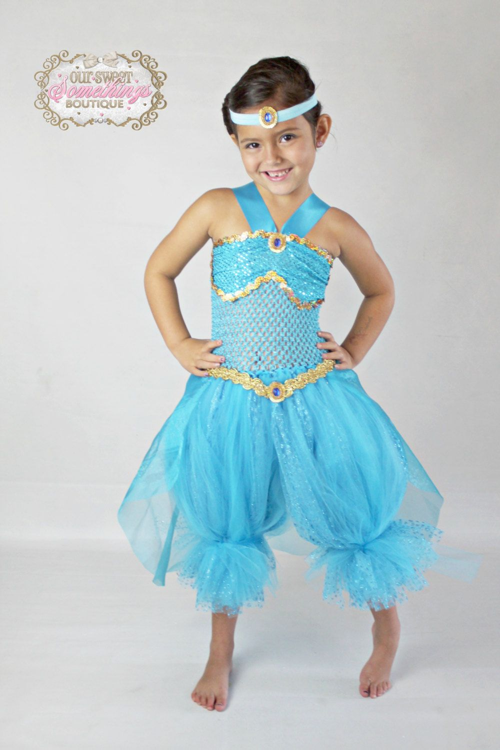 Princess Jasmine Inspired Turquoise Gold by  sc 1 st  Pinterest & diy genie costume - Google Search | costumn projects | Pinterest ...
