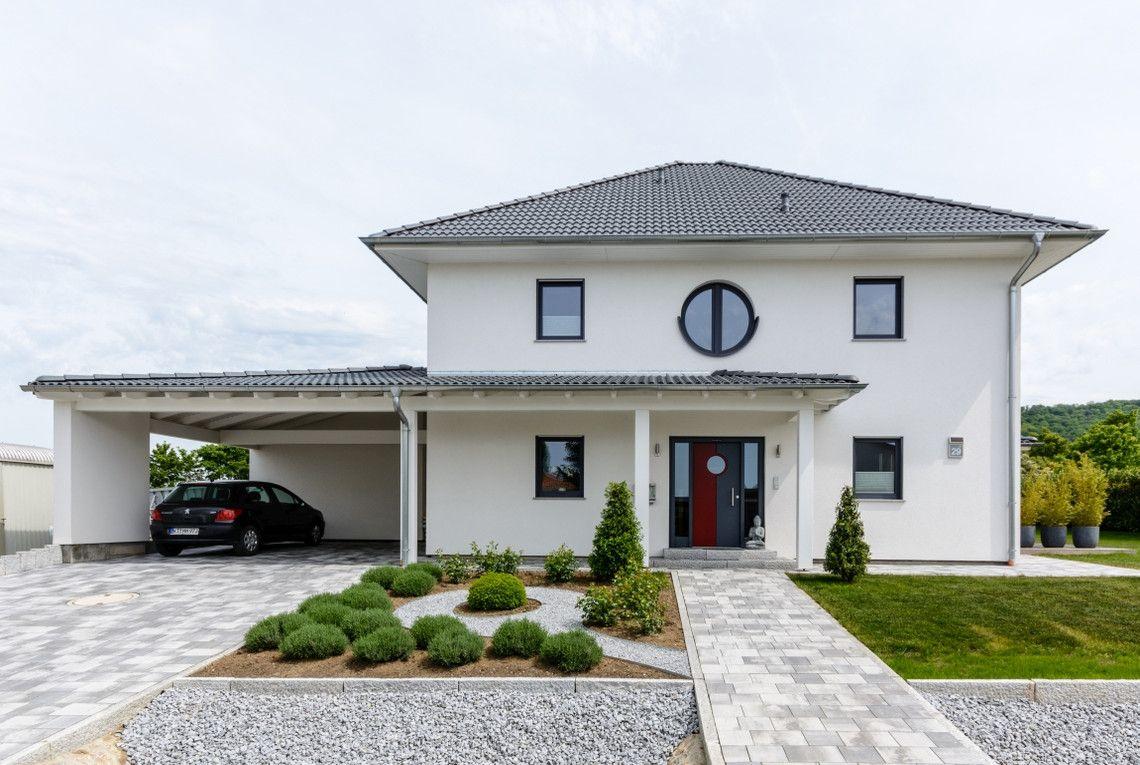 kundenhaus santorin rensch haus gmbh dwellincon haus haus mit garage und haus pl ne. Black Bedroom Furniture Sets. Home Design Ideas
