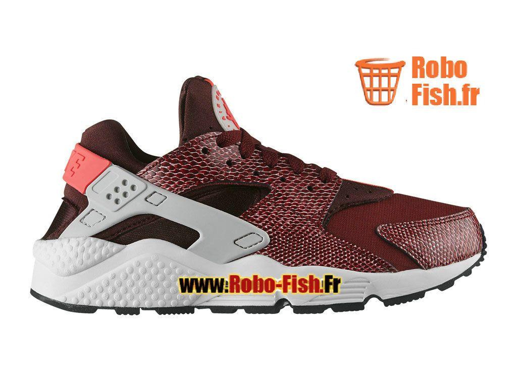 cheap for discount 04173 ce842 Nike Wmns Air Huarache GS - Chaussure Nike Sportswear Pas Cher Pour FemmeFille  Rouge