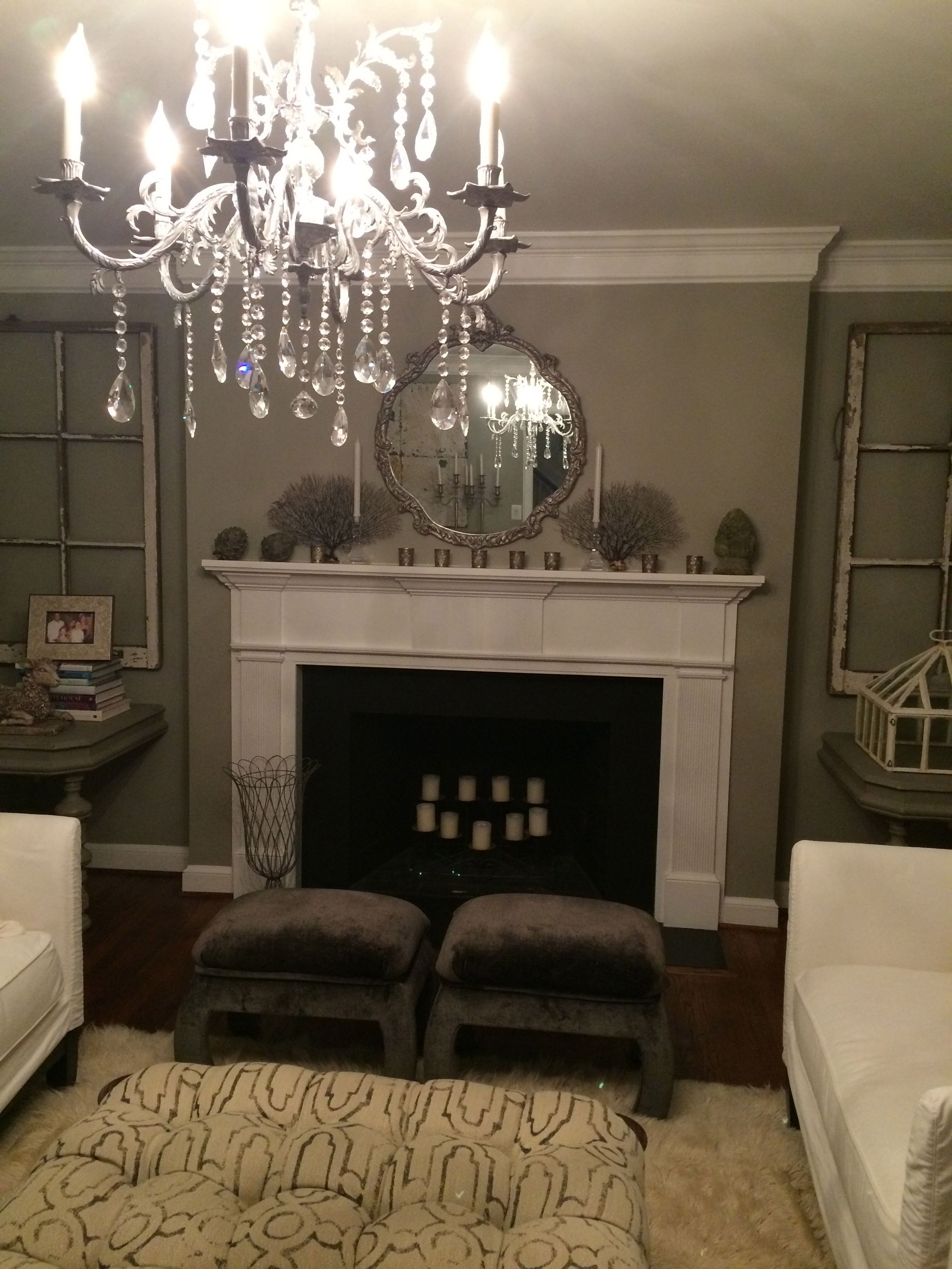 My Living Room In Benjamin Moore S Silver Fox I Will Always Have