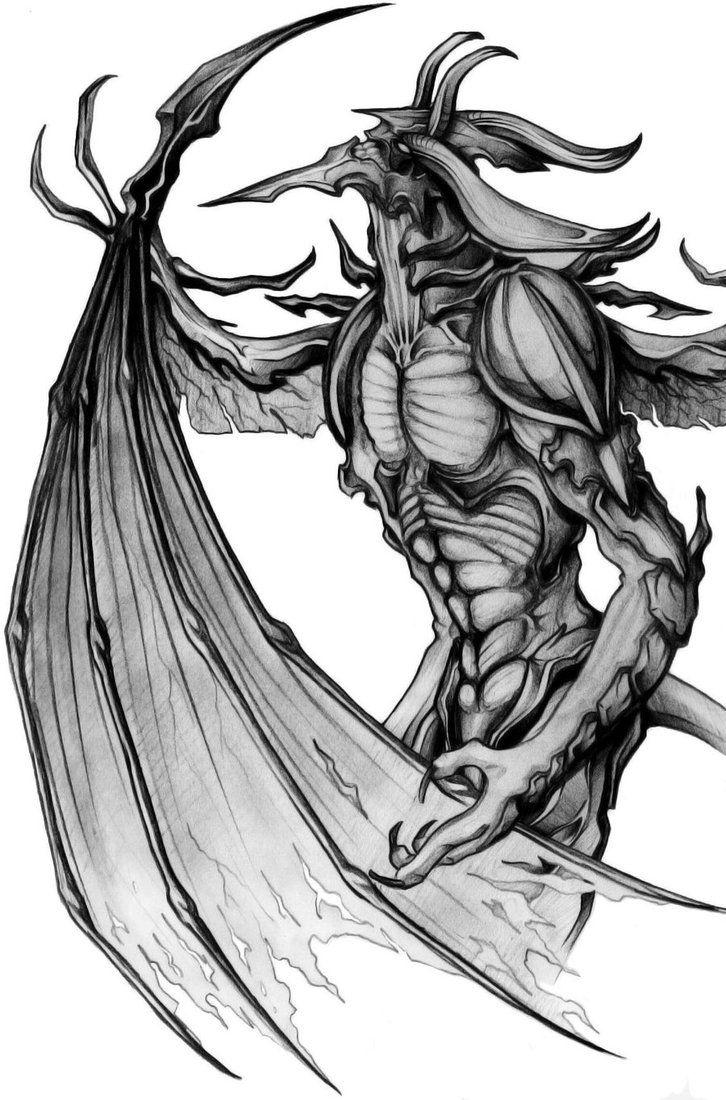 Final Fantasy VIII - Diablos by Scelatio | Creatures | Final