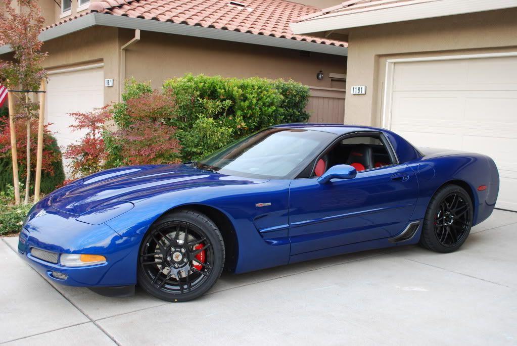 C5 Zo6 Electric Blue Old Corvette Chevrolet Nice Cars