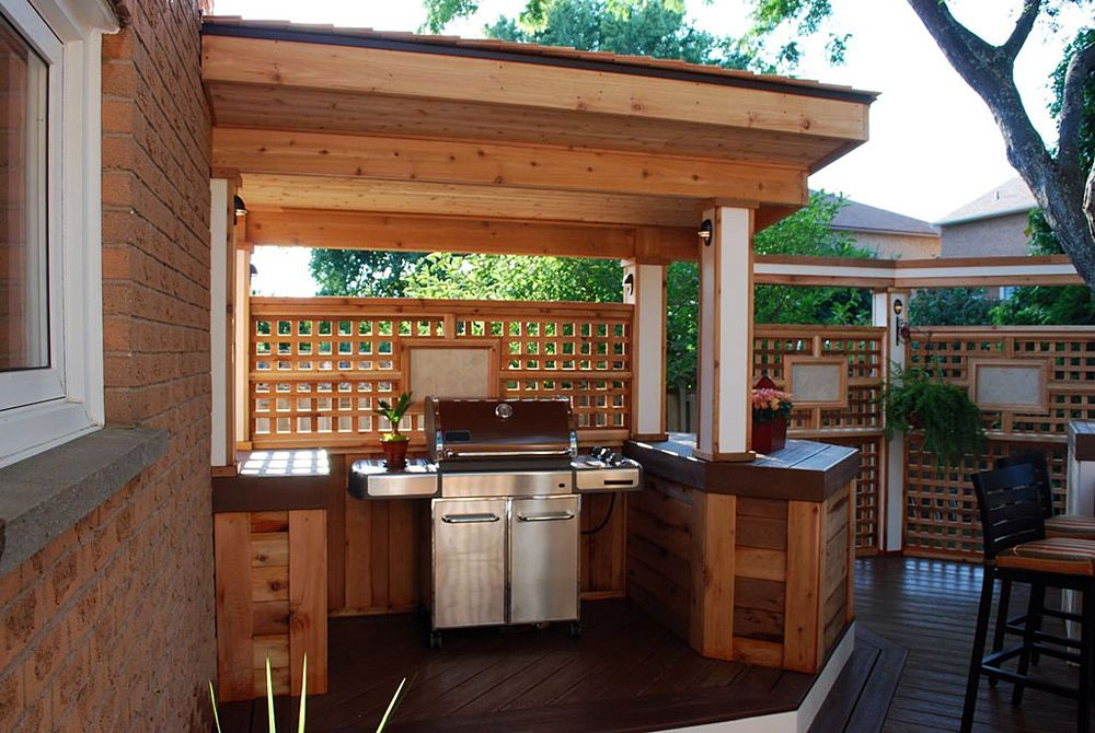Season 1 | Bbq shelter ideas, Built in bbq, Outdoor bbq