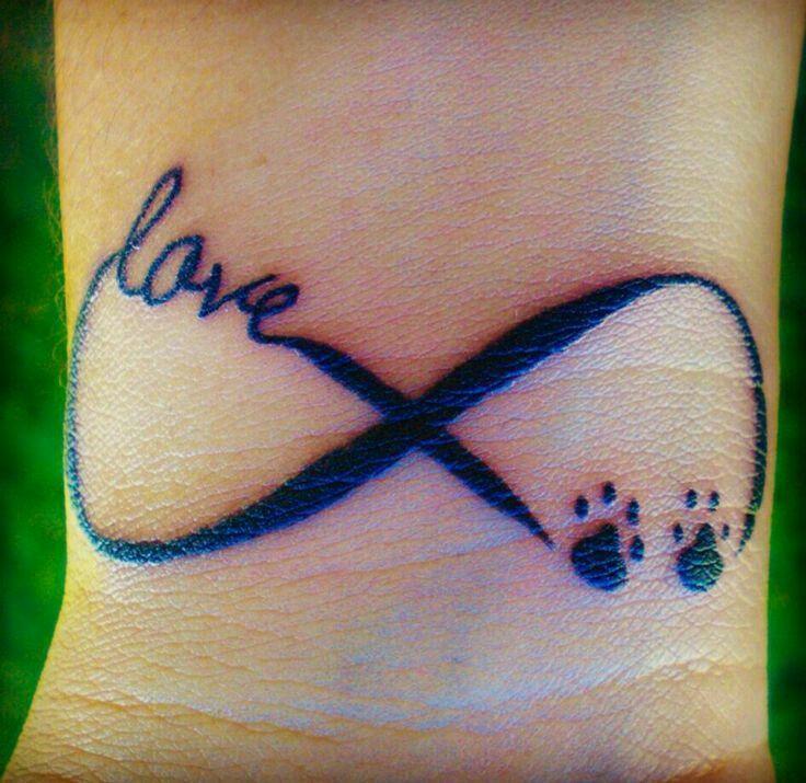 Memorial Tattoo Infinity Paw Print: Infinity Tattoos, Tattoos