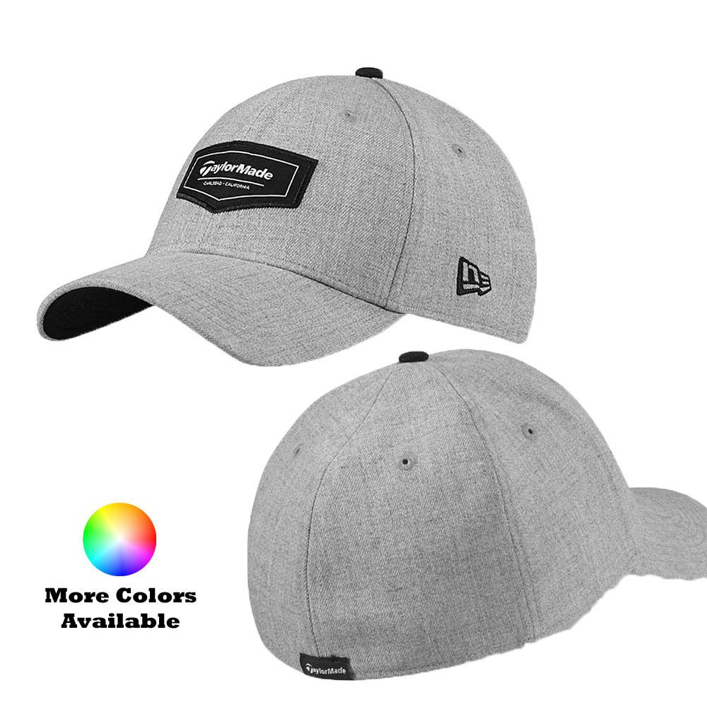 03f0c38ed658c TaylorMade Golf Pipeline New Era 39 Thirty Stretch Fit Hat Cap ...
