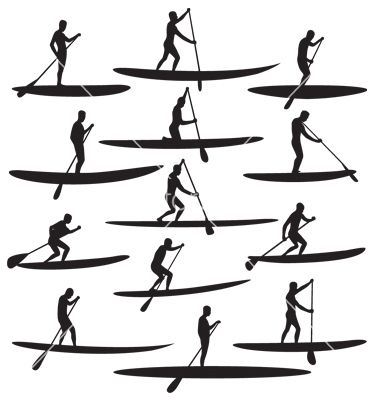 sup paddle clip art google search paddleboarding