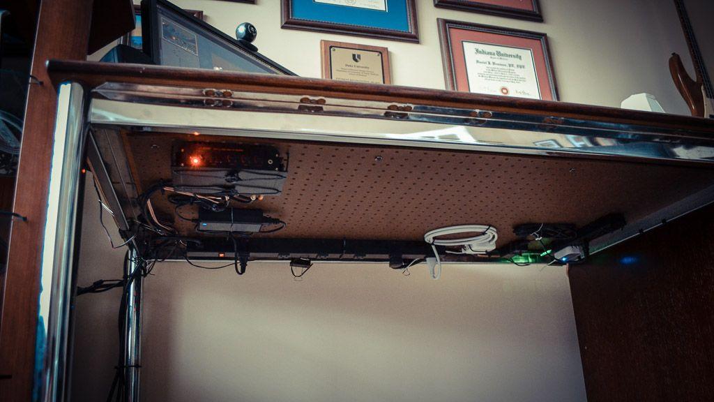 Under Desk Cable Management Home Office Desks Desk Cable