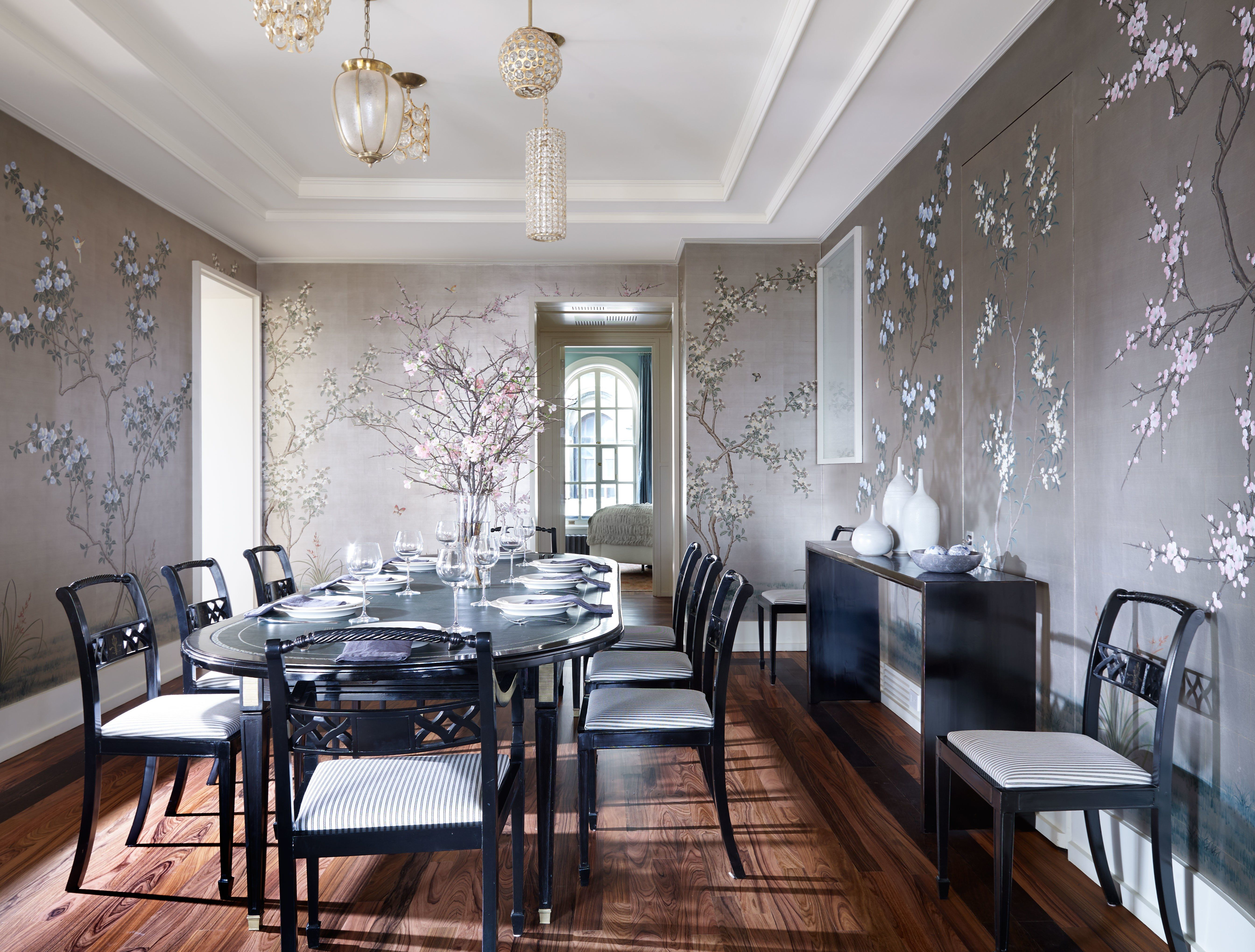 A polished new york apartment in a famous beaux arts