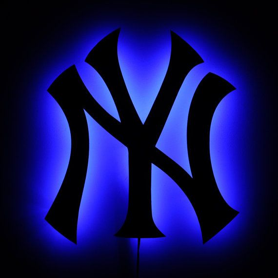 Lighted Yankees Sign Led Backlit New York Yankees By