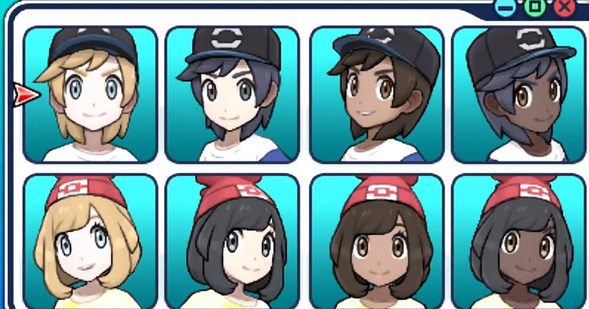 You Can Finally Play As A Black Pokemon Trainer In Pokemon Sun And Moon Pokemon Sun Black Pokemon Pokemon