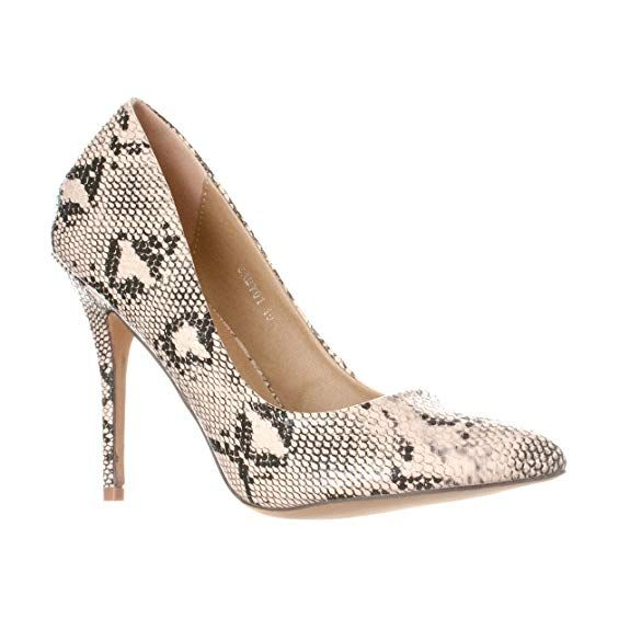Womens Toe Stiletto Pump Heels Riverberry Gaby Pointed