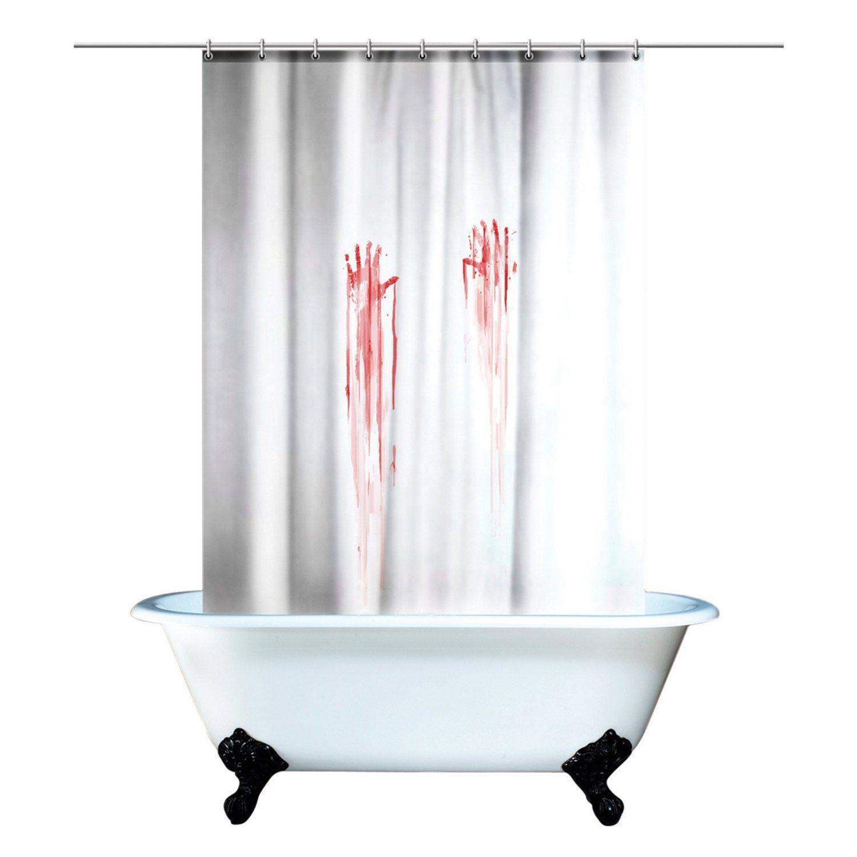 Halloween Blood Shower Curtain 180cm X 180cm Polyester Bathrooms