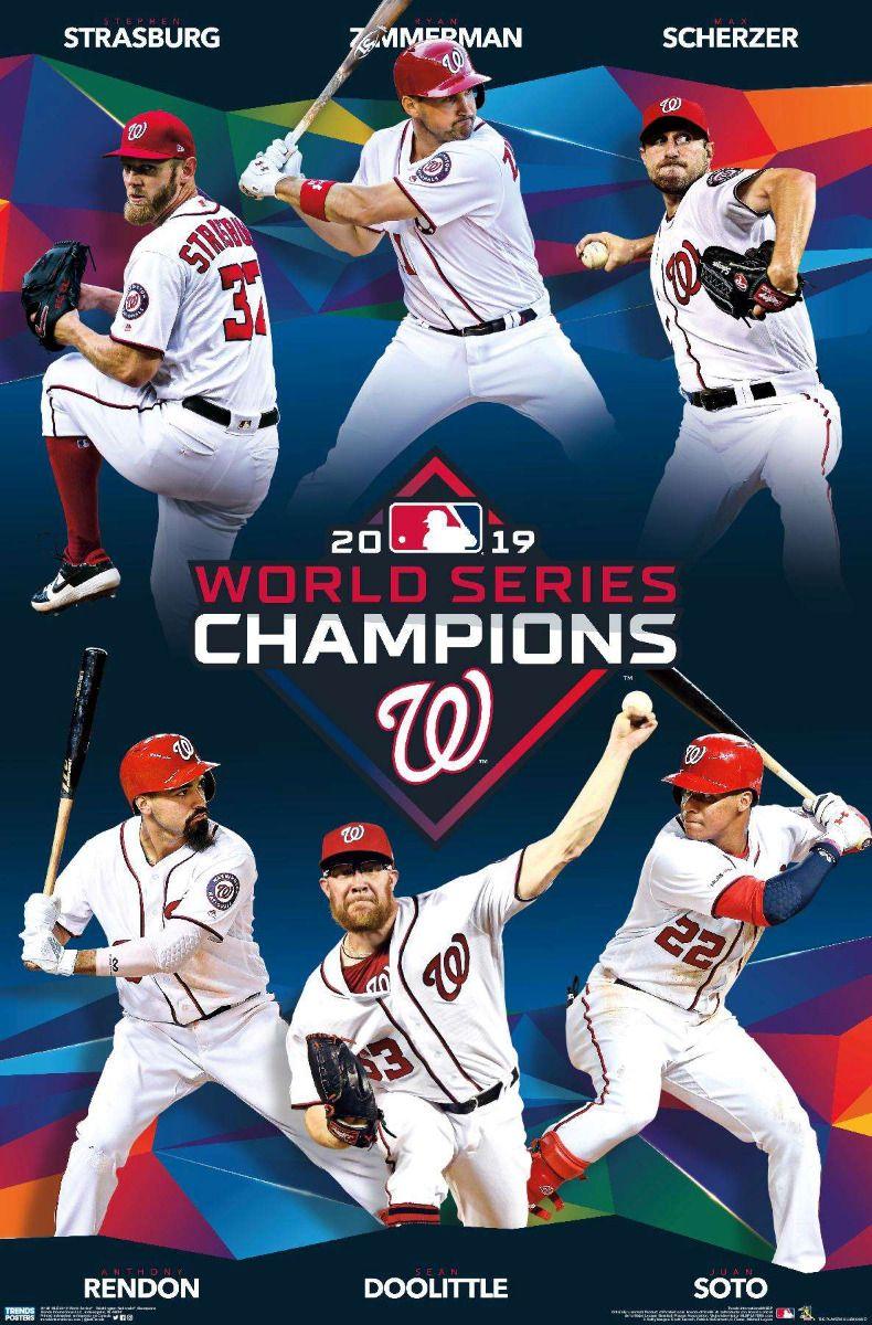 Mlb 2019 World Series Washington Nationals Champions In 2020 Washington Nationals Baseball Washington Nationals Washington Nationals Logo