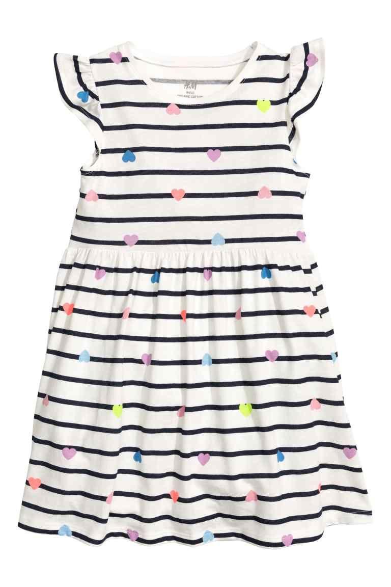 3104e6be8 Vestido de punto   silvina   Moda para niñas, Vestidos de algodón y ...