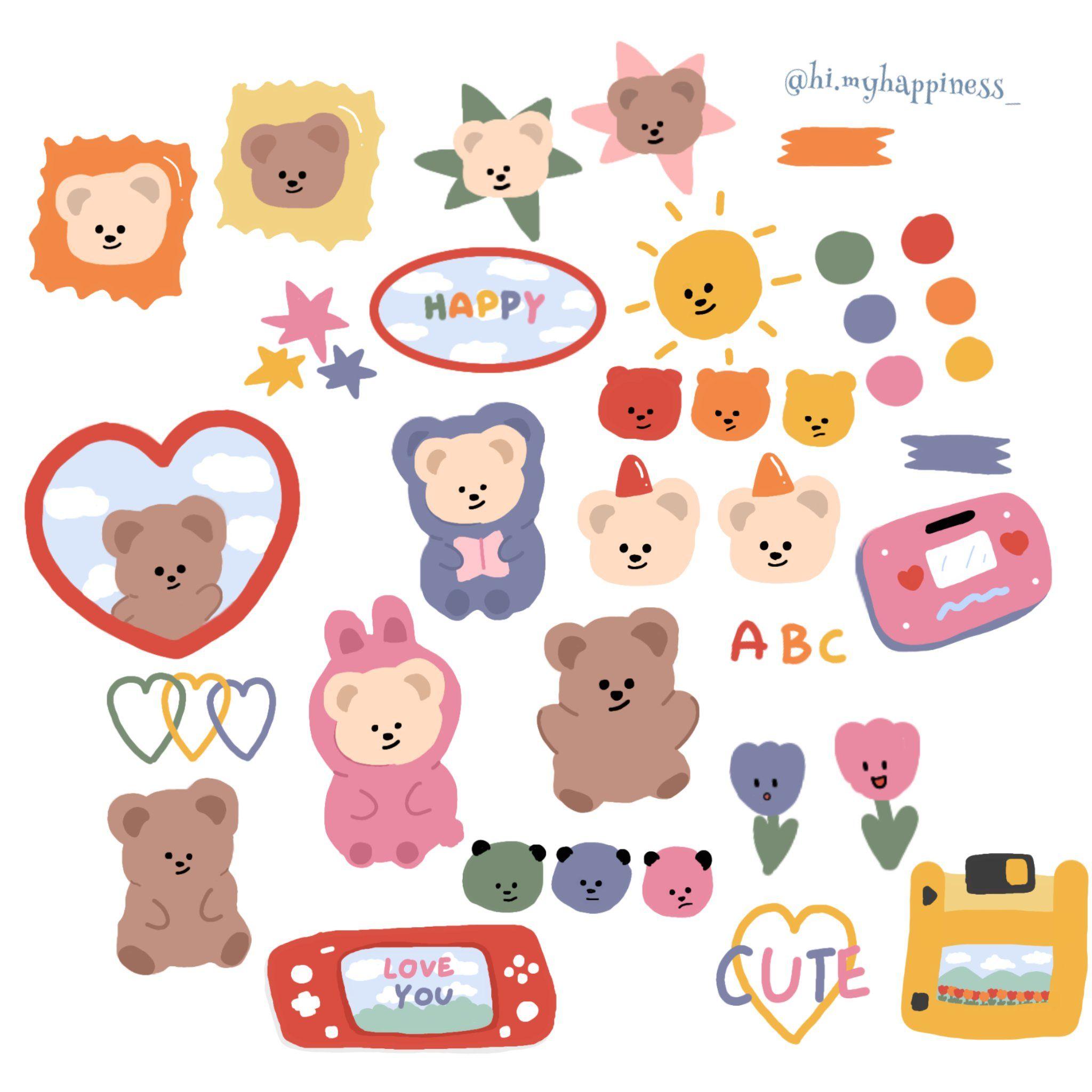 On Twitter Cute Stickers Sticker Art Aesthetic Stickers