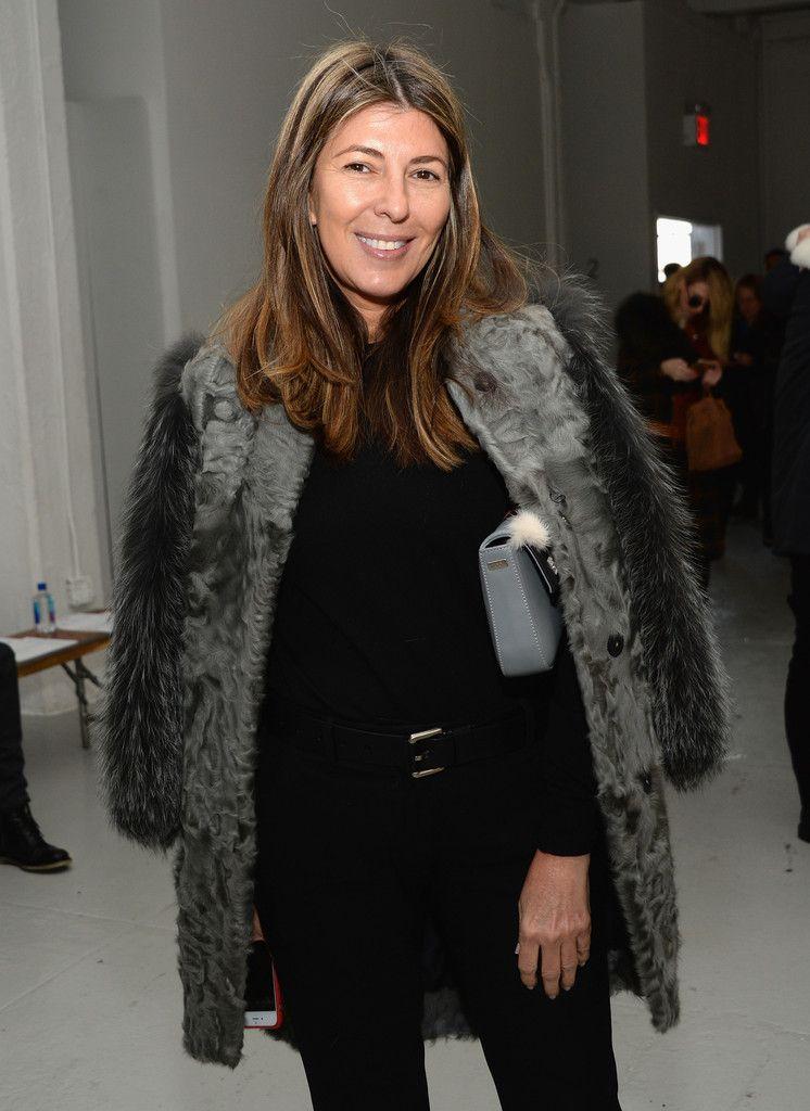 Nina Garcia Photos: Rodarte - Front Row - Mercedes-Benz Fashion Week Fall 2015