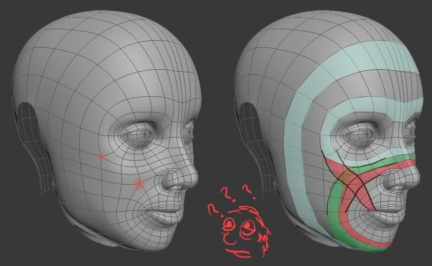 Picked up by cgchips 2d 3dcg tutorials and 3dprinter news for 3ds max face modeling