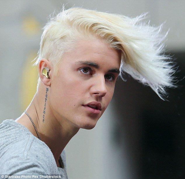 Justin Bieber Unveils Bleach Blond Hair On Before Throwing A