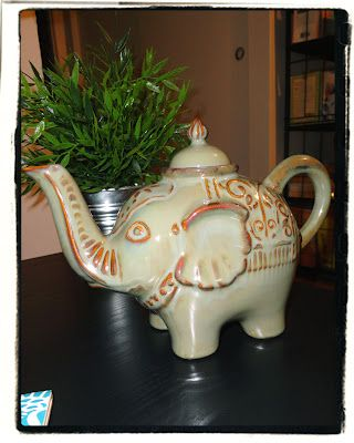 Obsessed with teapots right now and this one is so unique:)