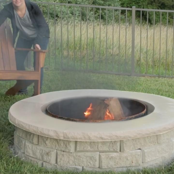 Photo of Decoración de patio – pozo de fuego – chimenea exterior – DIY