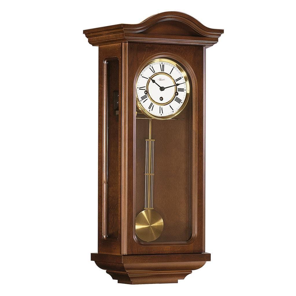 Hermle Northfields Mechanical Regulator Wall Clock 70290030341 Made In Germany Black Wall Clock Wall Clock Oversized Wall Clock