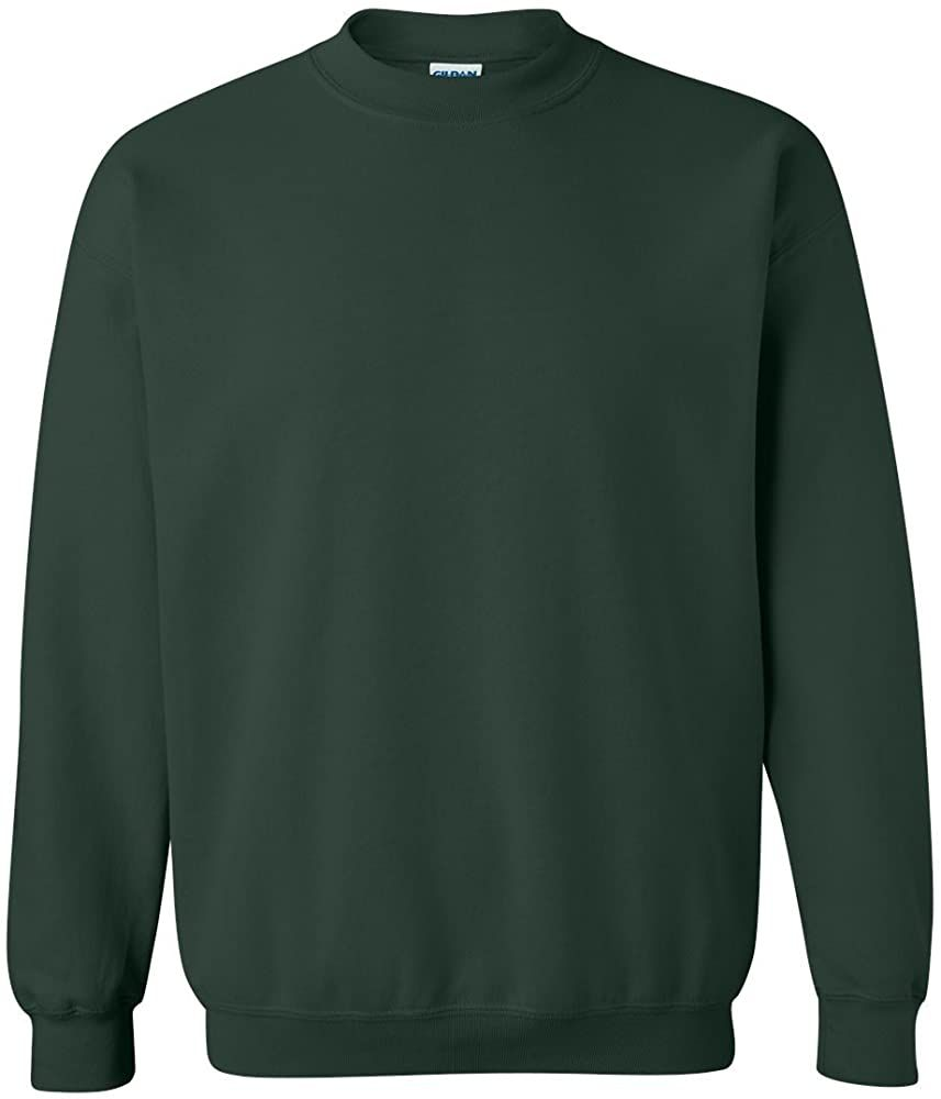 Gildan Men S Heavy Blend Crewneck Sweatshirt Medium Forest Green At Amazon Men S Clothing Store Athletic Swea Sweatshirts Crew Neck Sweatshirt Mens Fleece [ 1000 x 857 Pixel ]