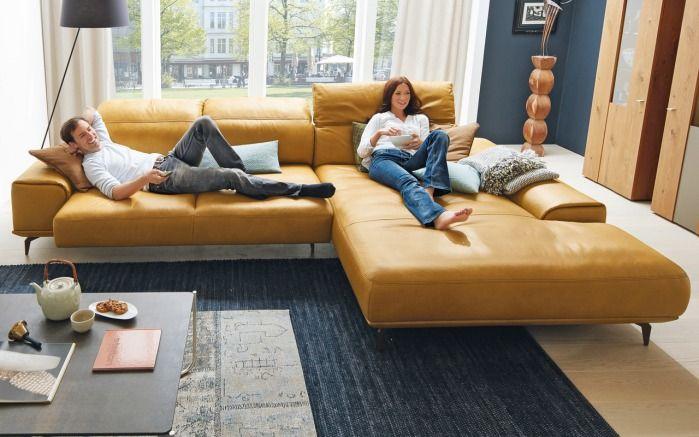 Leder Wohnlandschaft Mr 2490 Musterring Sofa Wohnen Bequeme Sofas