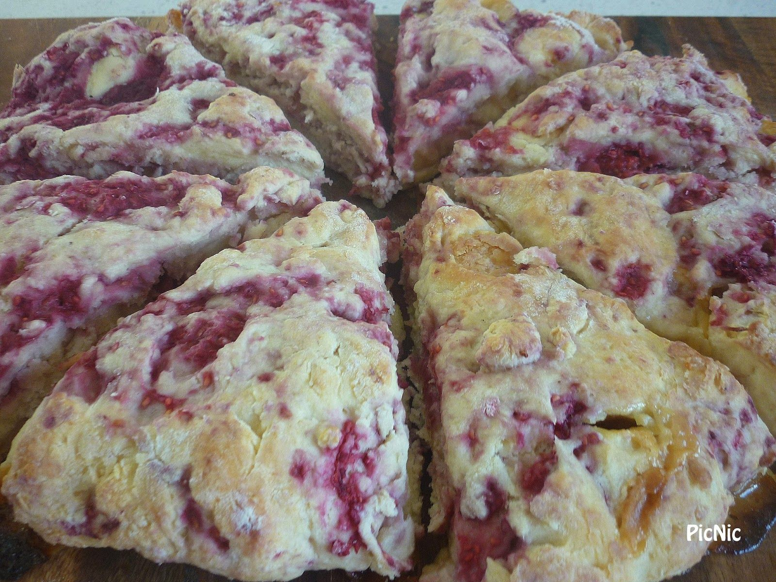 Picnic Raspberry White Chocolate Buttermilk Scones Sweet Recipes White Chocolate Raspberry Buttermilk Scone Recipe