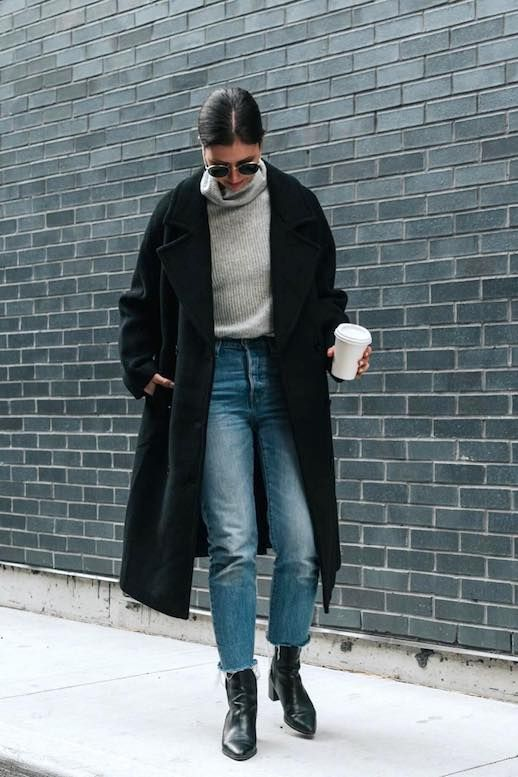 The Perfect Winter Look for Getting Coffee (Le Fashion)