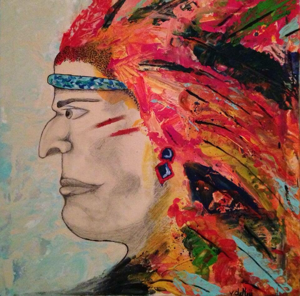 Abstract. Native American. Feather. Drawing. Happy. Light.
