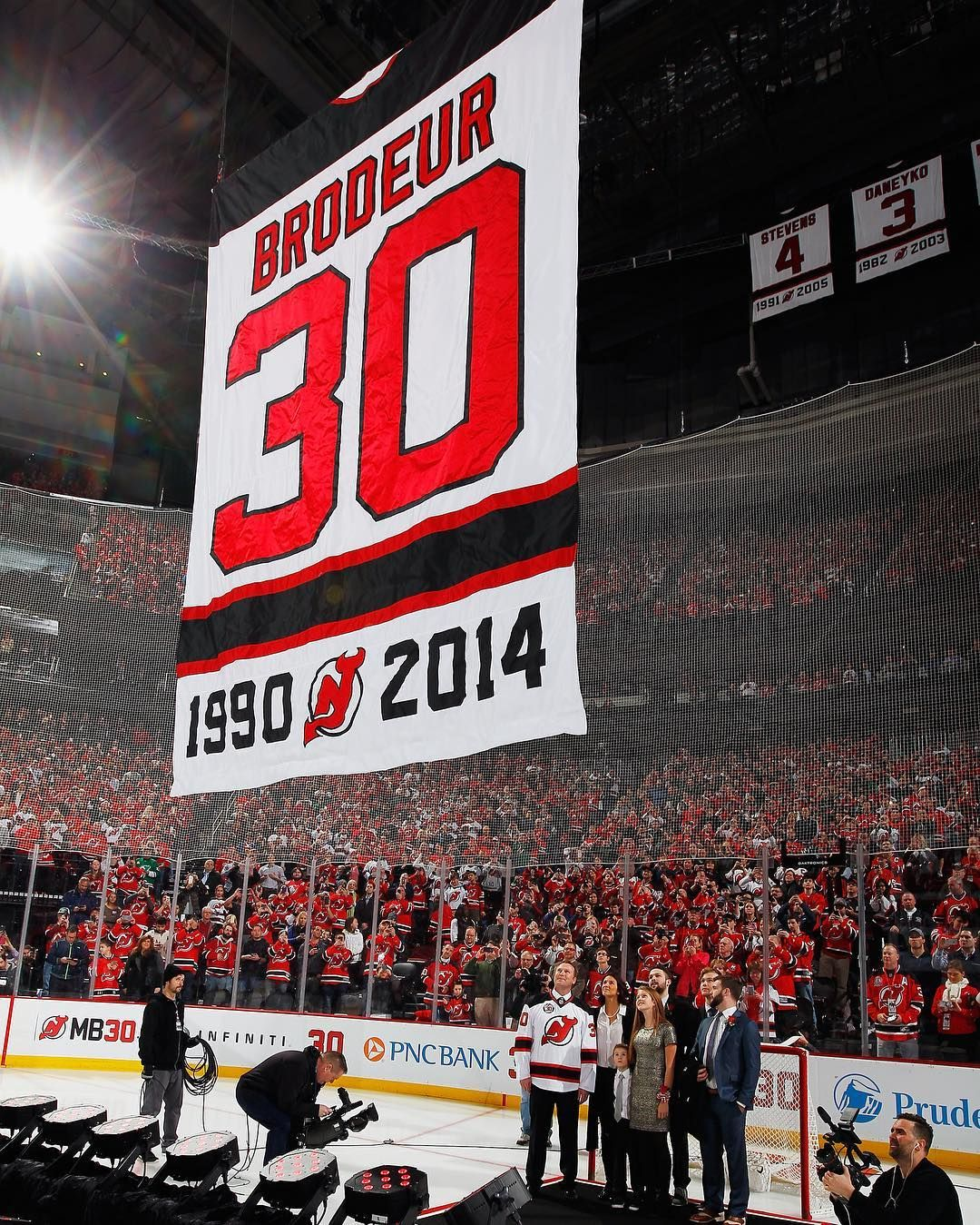 Martin Brodeur S Jersey Retirement Ceremony On February 9 2016
