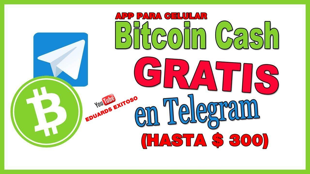 Cómo Ganar Dinero Con Telegram Gana Hasta 300 En Bitcoin Cash Bch Es éxito Total Prueba D Pa Ganar Dinero Por Internet Ganar Dinero Como Ganar Dinero
