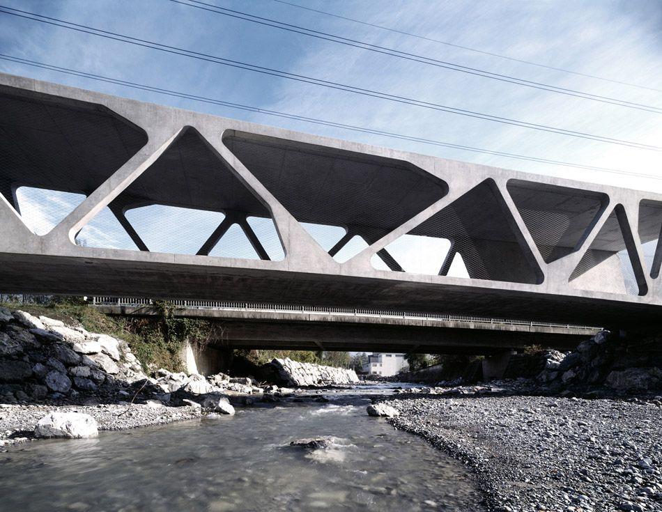 alfenz bridge by marte marte architects