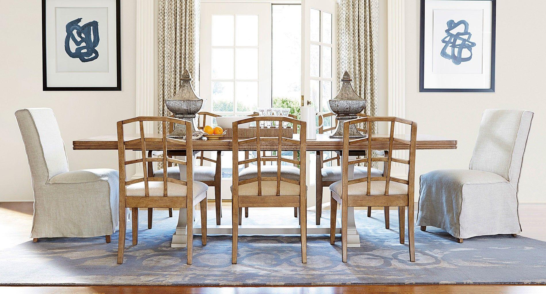 Moderne Muse Rectangular Dining Room Set Universal Furniture Brilliant Universal Furniture Dining Room Set Review
