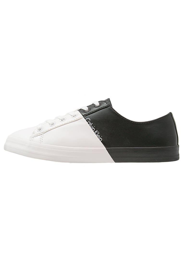 c2854b1a011d36 Chaussures Calvin Klein Jeans WANDA - Baskets basses - black/white blanc:  89,95 € chez Zalando (au 22/06/16). Livraison et retours gratuits et  service ...