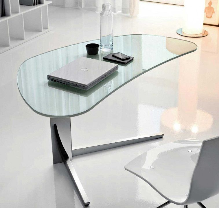 Executive Office Layout Glass Desk Office Glass Office Glass Office Furniture