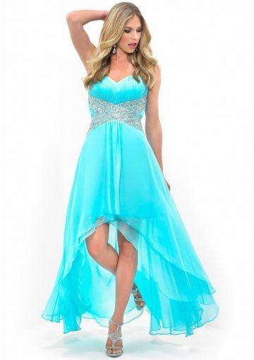 2014 Prom Dresses - my dress | Pinterest - Baljurken, Hoog laag en ...