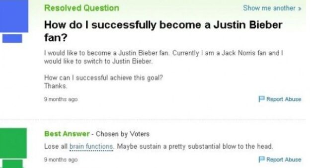 1 of the 40 dumbest questions asked on yahoo