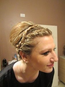Perfect updo!