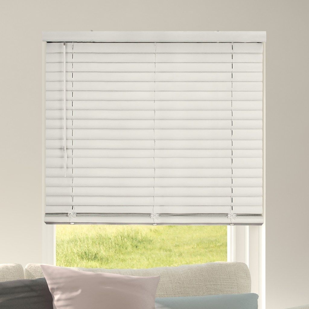 Chicology Cordless 2 Inch Vinyl Mini Blinds Natural 72x64 Blinds Vinyl Mini Blinds Mini Blinds