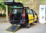 Caradap presenta un vehículo que facilita el transporte de personas con movilidad reducida