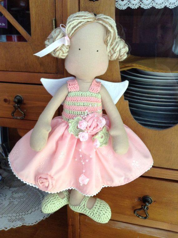 Peluches hechos a mano llamado Charlotte, por encargo, Child Friendly, coleccionable, regalo para los niños como juguetes, para los adultos como decoración o novedad.