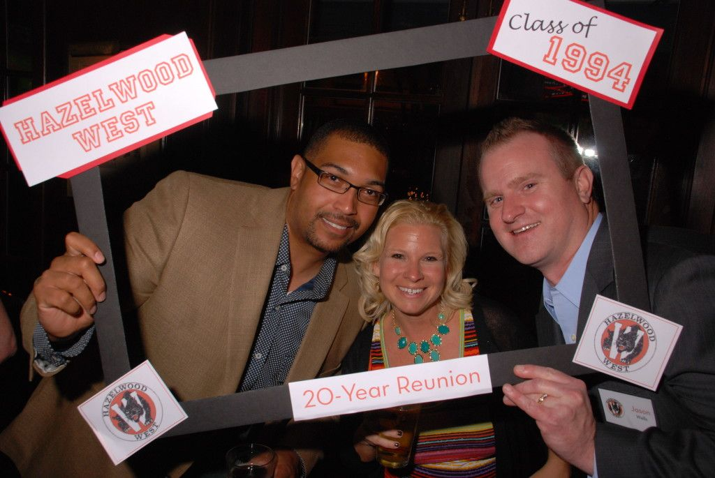 Photo booth ideas for your high school reunion at varsityreunions.com