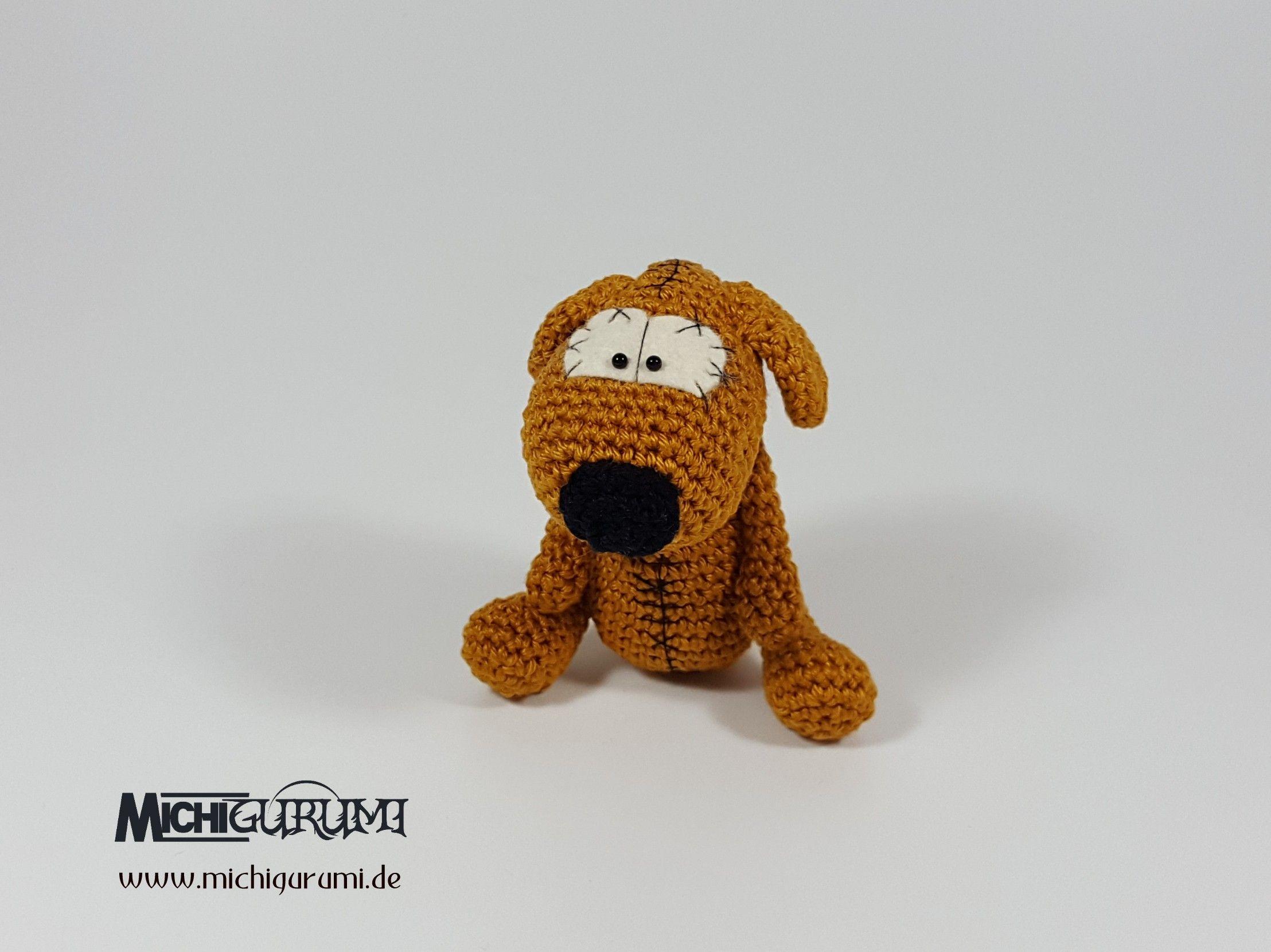 Häkelanleitung: Mini - Hund | Häkeln | Pinterest | Amigurumi, Pdf ...
