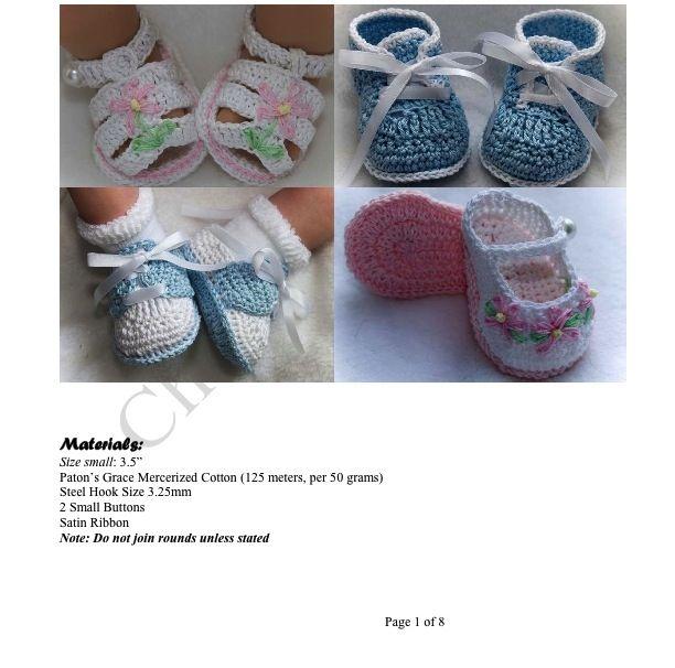 Baby Booties free crochet pattern | niños | Pinterest | Schuhe und ...